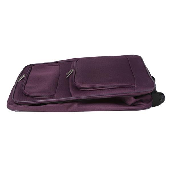 Hardwearing, Lightweight 55 x 40 x 20cm Cabin Sized Fold Flat Suitcase