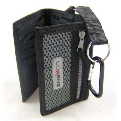 Black Tri Fold Sports Wallet by Lorenz