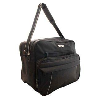 Cabin Size Flight Bag From The Borderline Range in Black Approx 33L Volume