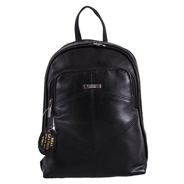 Gorgeous soft sheep nappa leather backpack / rucksack