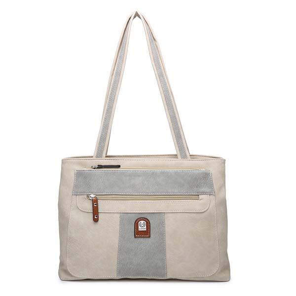 A Twin Compartment Shoulder Bag