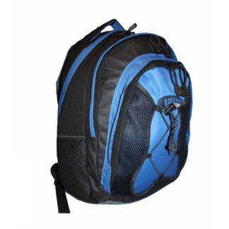 Medium Sized Backpack From The Borderline Range in Black Approx 26L Volume